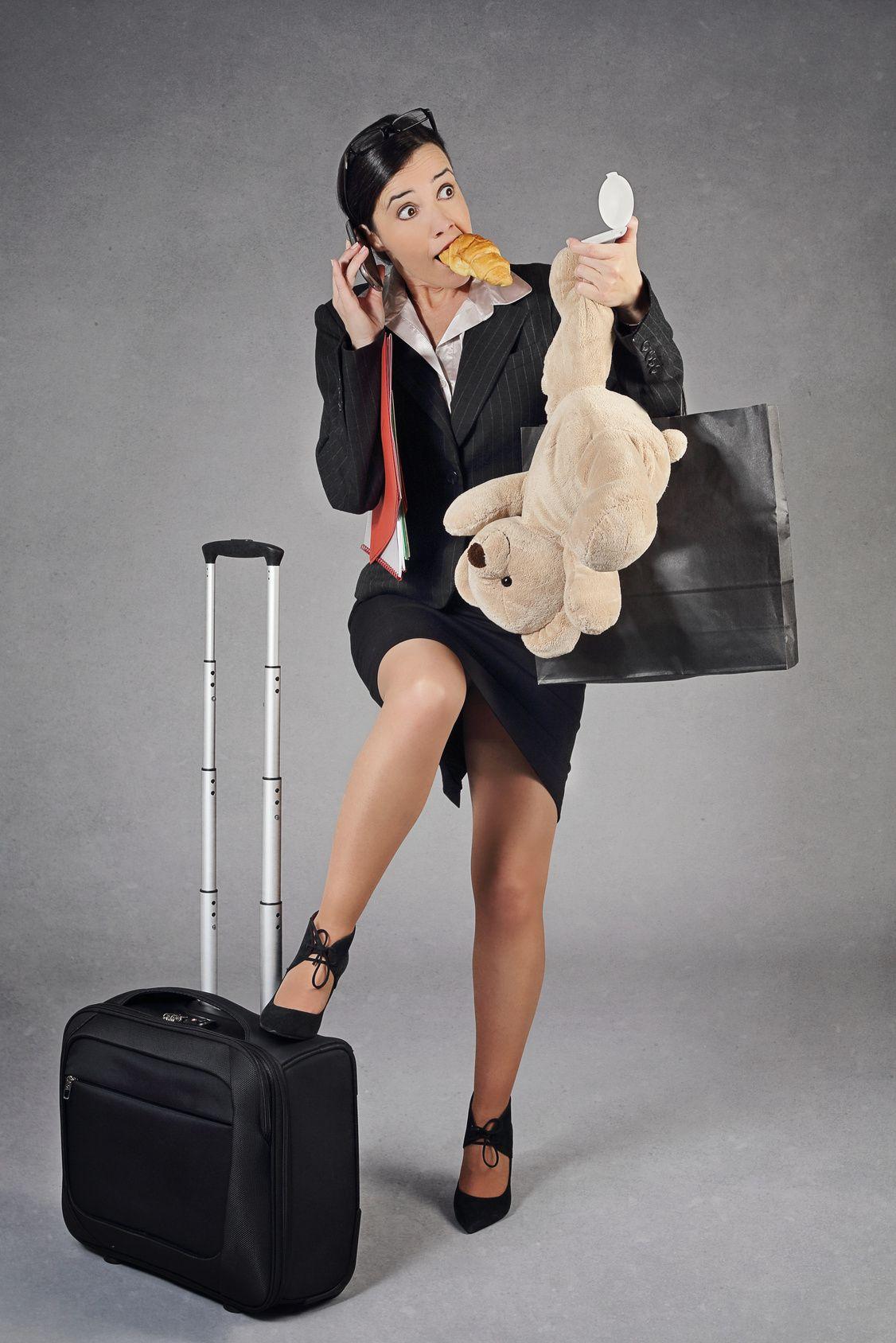Karriere oder Familie? Frauen sind oft im Stress